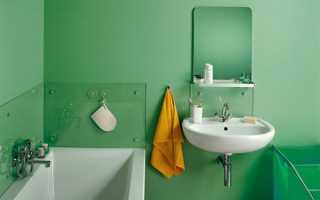 Чем покрасить ванную комнату внутри?