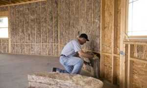 Утеплитель для стен каркасного дома на даче