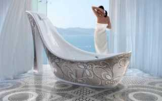 Отделка старой ванны мозаикой
