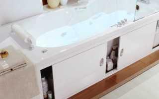 Самодельный экран под ванну из пластиковых панелей