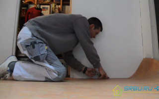 Технология укладки линолеума в квартире